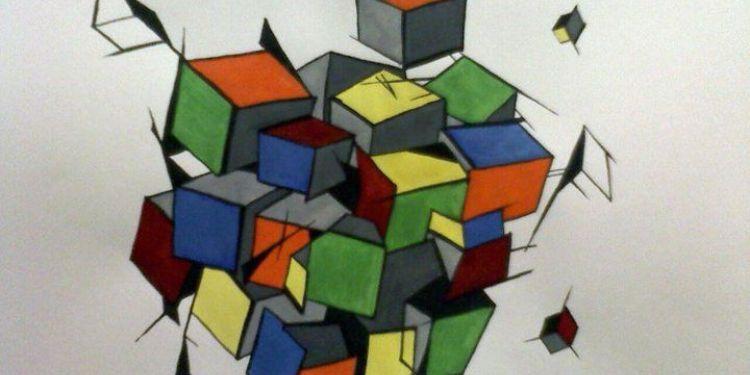 Versuri Lecția despre cub de Nichita Stănescu