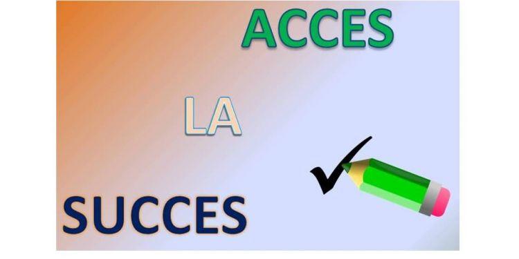 """Forma corectă a termenilor """"acces"""" și """"succes""""."""