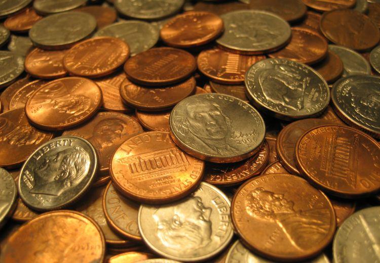 O monedă, două?