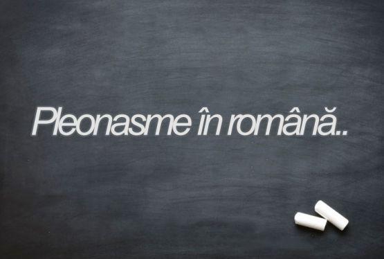 Pleonasme in Limba romana